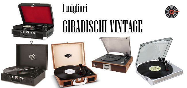 Giradischi vintage