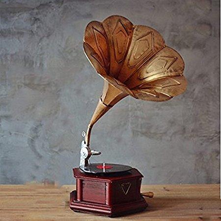 grammofono antico nostalgia ferro