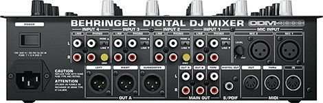 Behringer-DDM-4000-mixer