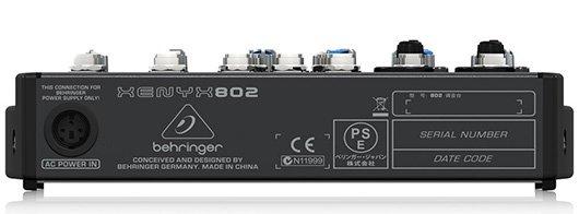Behringer-Xenyx-802-mixer-dj