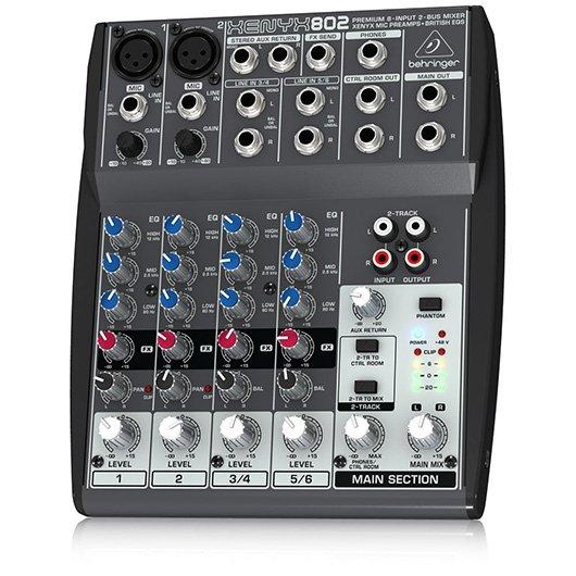 mixer-dj-Behringer-Xenyx-802