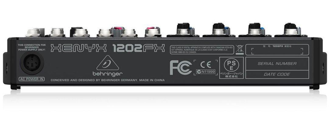 Behringer-Xenyx-1202fx-mixer