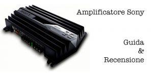 Amplificatore-Sony