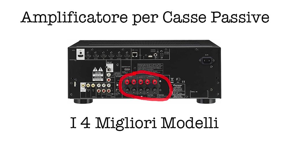 Casse-Passive-amplificatore