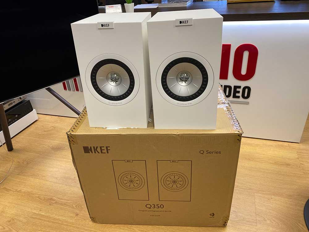 diffusori-kef-q350-unboxing